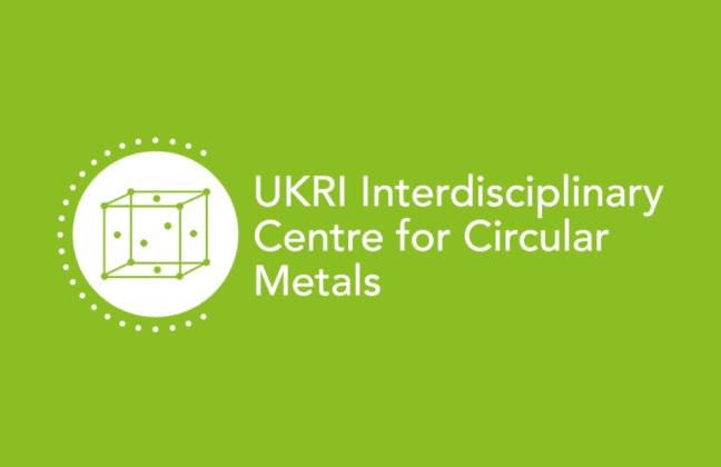white and green CircularMetal logo