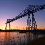 Sunset shot of Crane