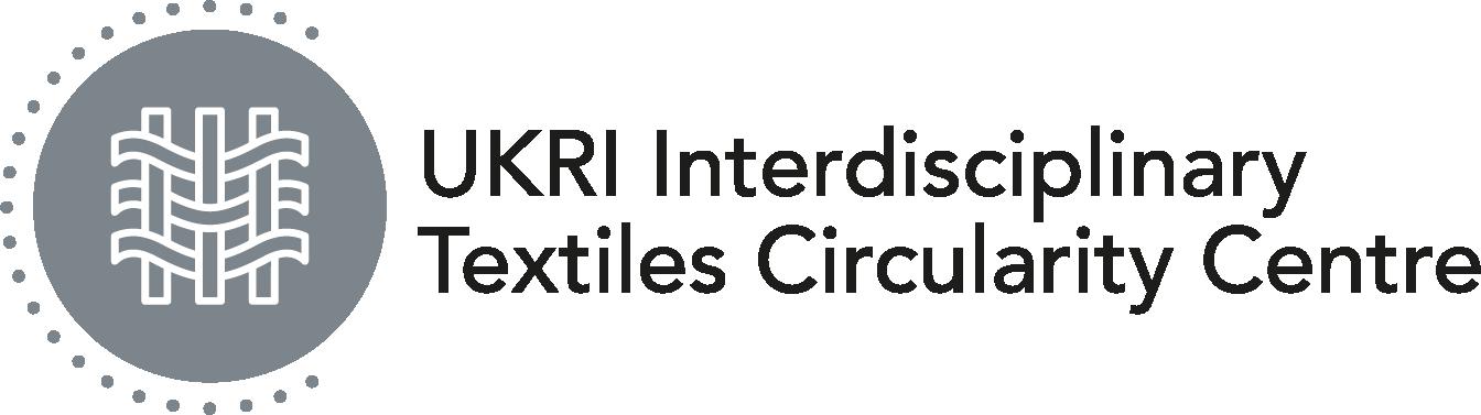 UKRI Interdisciplinary Textiles Circularity Centre Logo